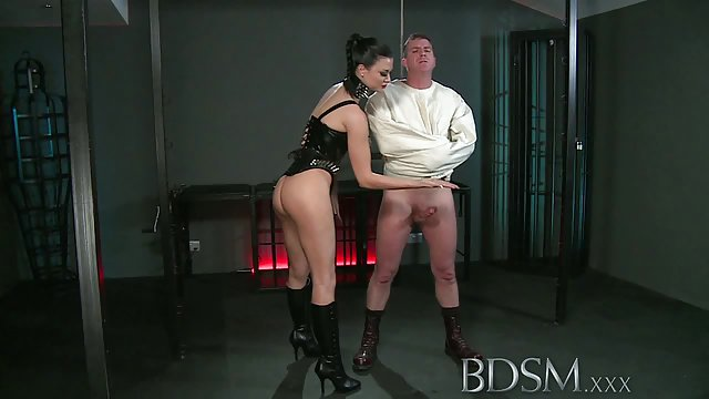 Ash Fucks misty games bdsm XXX slave in the introduction of estradiol vaginal ring
